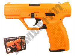TX128 Airsoft BB Gun Black and Orange
